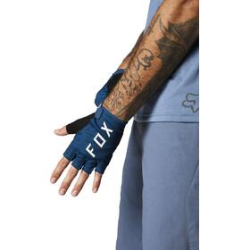 Fox Ranger Gel Short Finger Gloves Men, matte blue